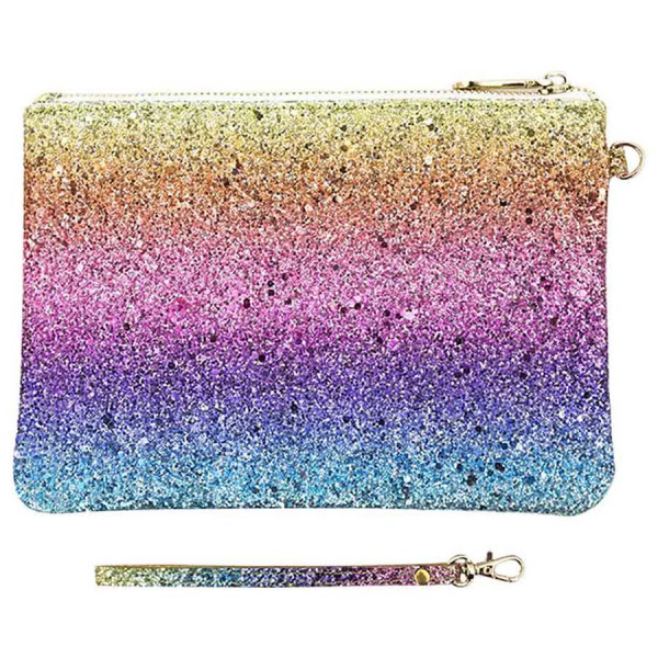 Neseser ROCK THE RAINBOW COSMETIC PURSE RAINBOW SEQUIN