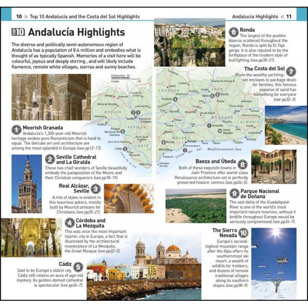 ANDALUCIA AND COSTA DEL SOL TOP 10