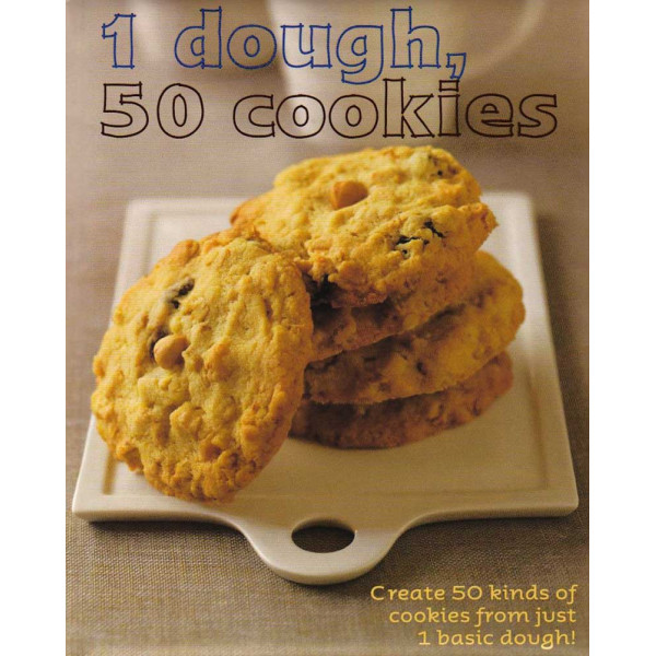 1 DOUGH, 50 COOKIES
