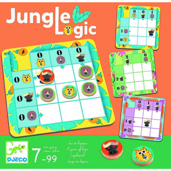 IQ Puzzle GAME JUNGLE LOGIC