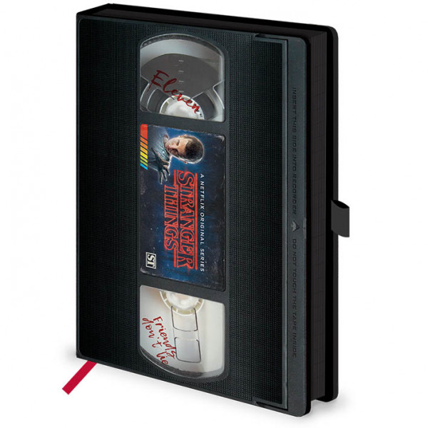 Notes Premium A5 STRANGER THINGS Season 1 VHS