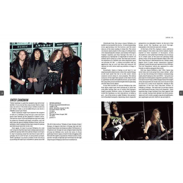 METALLICA THE STORIES BEHIND THE SONGS