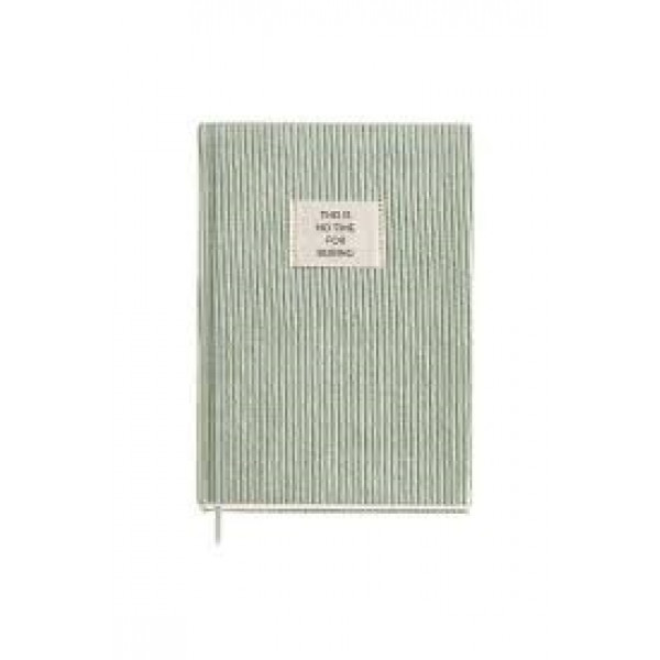 Notes A5 GREEN CORDUROY JUNGLE MR