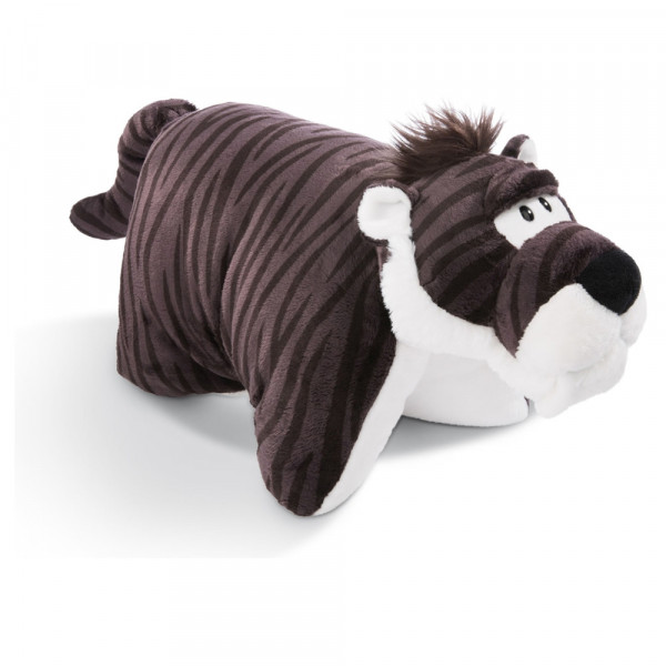 CUDDLY TOY PILLOW SABRE-TOOTHED TIGER 40X30CM