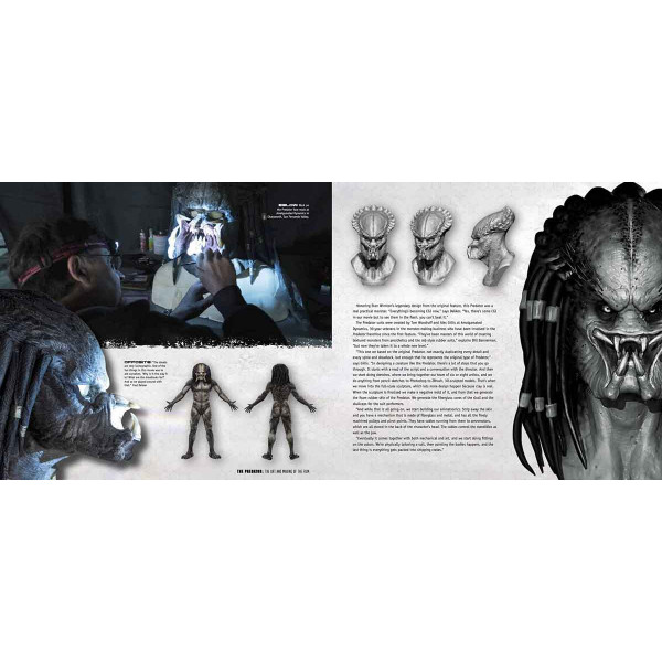 THE PREDATOR The Art and Making of the Film
