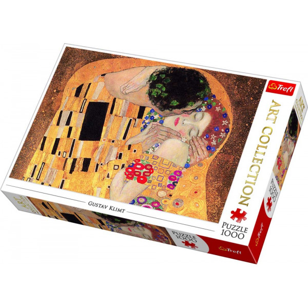 Puzzle TREFL Klimt Art The Kiss 1000