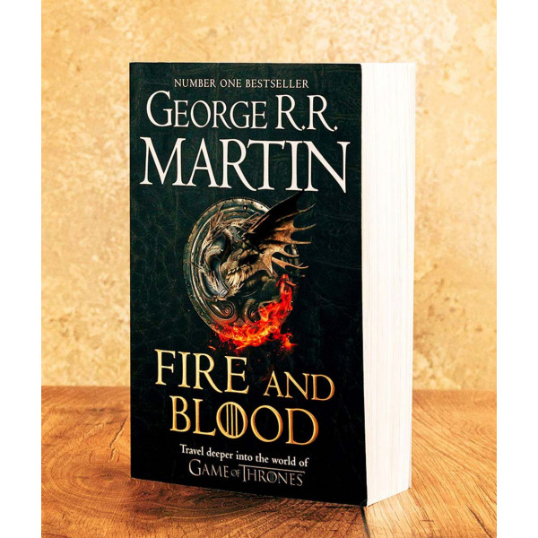 FIRE AND BLOOD pb