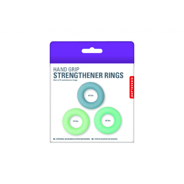 Antistres guma HAND STRENGTHENERS