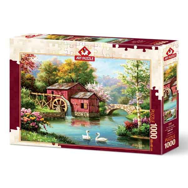 Puzzle THE OLD RED MILL 1000 kom