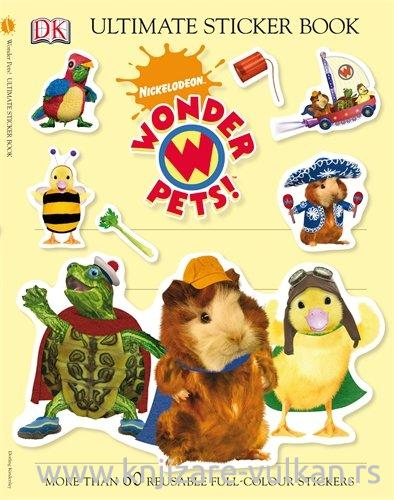 WONDER PETS Ultimate Sticker Book