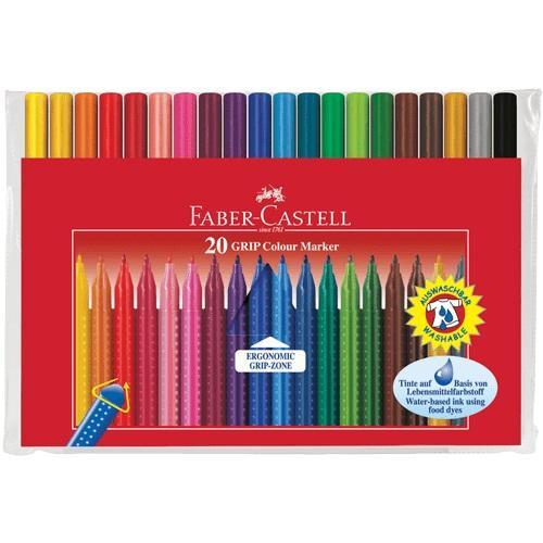 Flomasteri školski Faber Castell GRIIP 1/20
