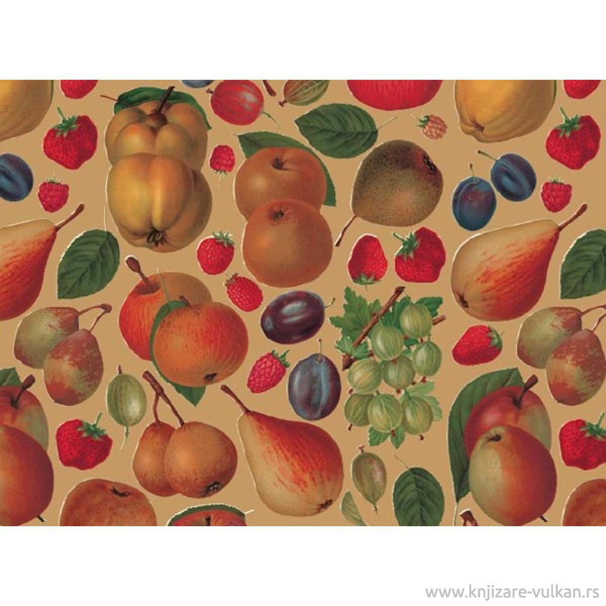 WRAPPING PAPER FRUITS