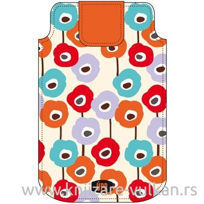PHONE POUCH POPHY REPEAT