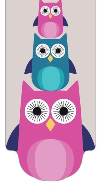 INT MAG BOOKMARKER OWLS