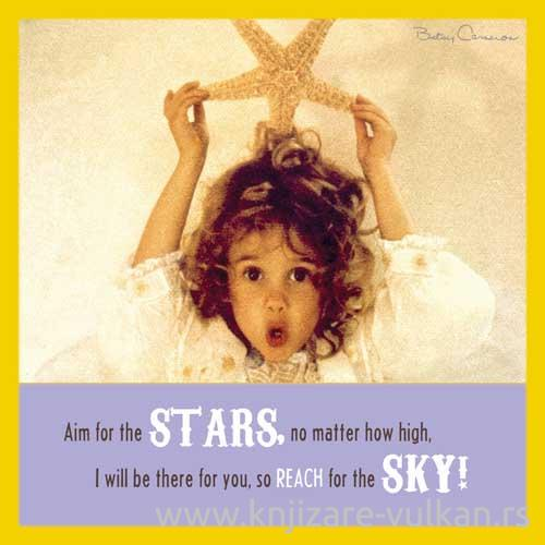 BETSY CAMERON SQR GREETING CARD ANGEL WITH STAR