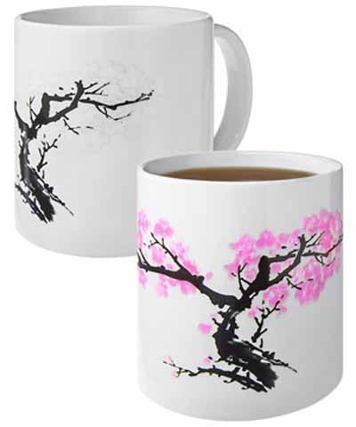 Magična šolja koja cveta - trešnjino drvo KLIKERMAT D.O.O.