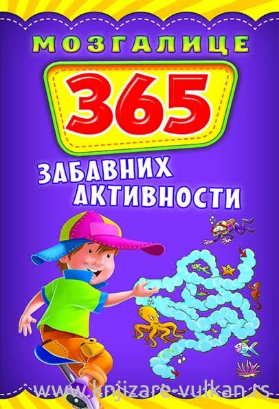 MOZGALICE 365 ZABAVNIH AKTIVNOSTI