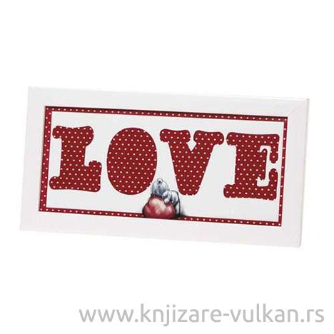 FRAME WITH LUV MOUNT
