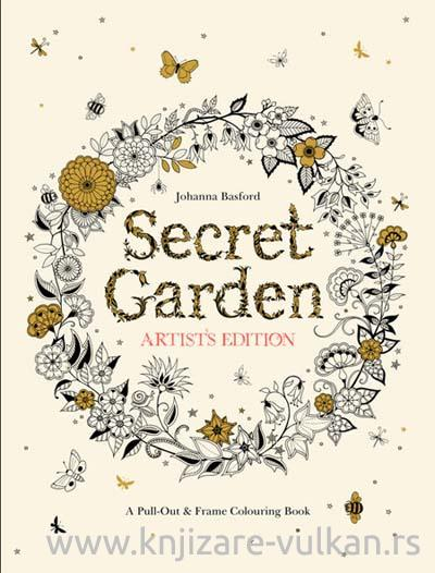 Secret Garden Artists Edition: A Pull-Out and Frame Colouring Book
