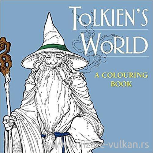 TOLKIENS WORLD COLOURING BOOK