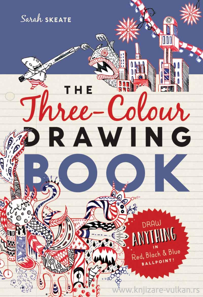 THE THREE COLOUR DRAWING BOOK