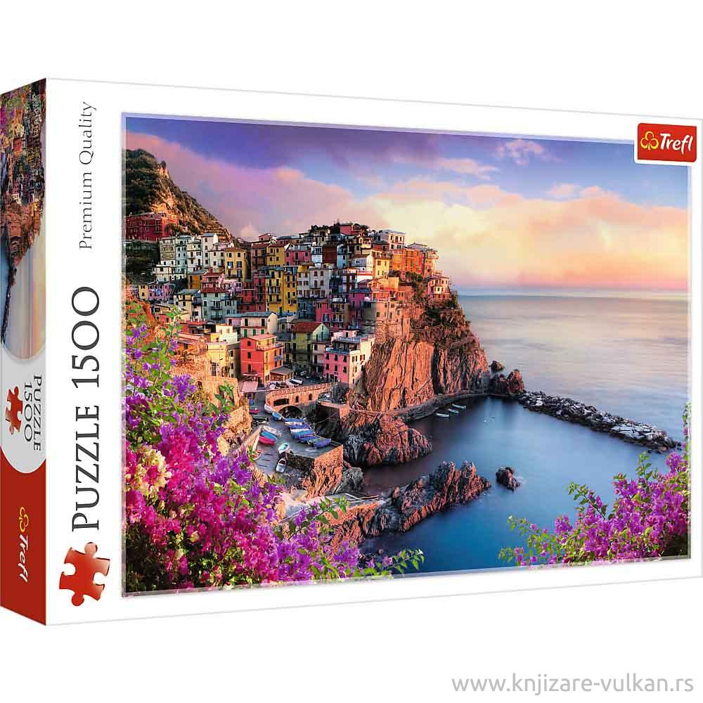 Puzzle POGLED SA MANAROLE ITALIJA 1500 kom
