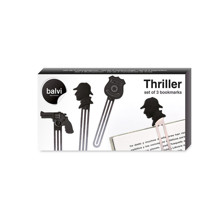 BOOKMARK THRILLER X3 PVC