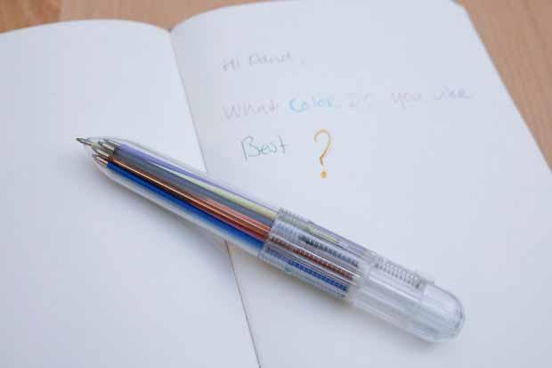 Hemijska olovka sa deset boja KLIKERMAT D.O.O.