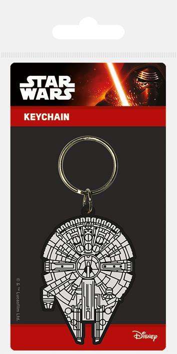 Privezak za ključeve STAR WARS Millennium Falcon