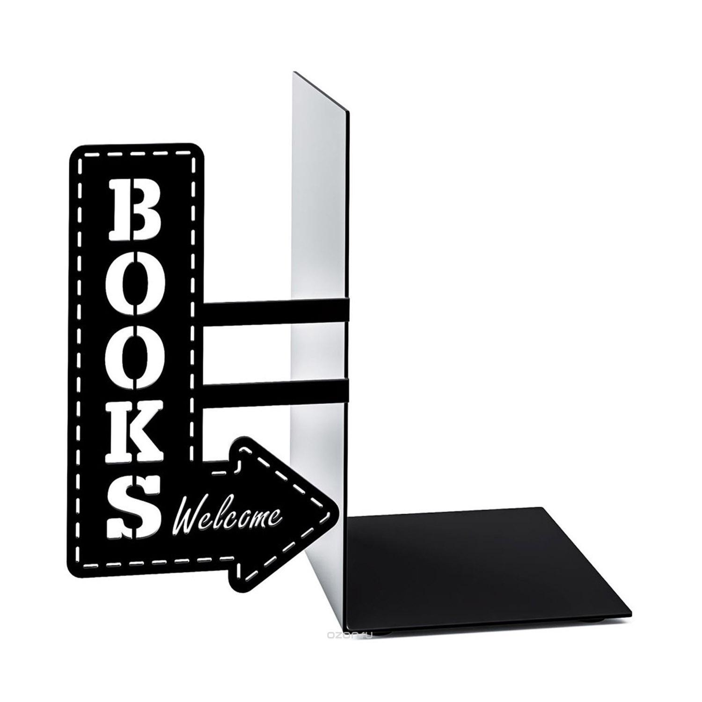 BOOKEND BOOKSHOP BLACK