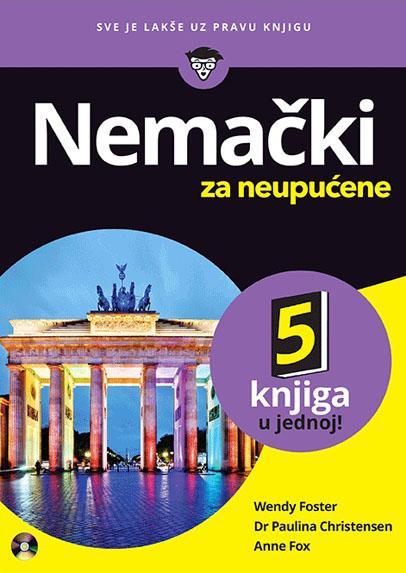 NEMAČKI ZA NEUPUĆENE SA CD 5 knjiga u 1