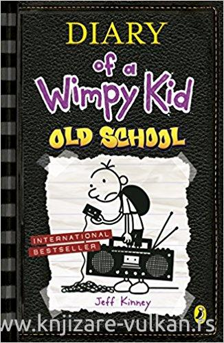 OLD SCHOOL Diary of a Wimpy Kid book 10