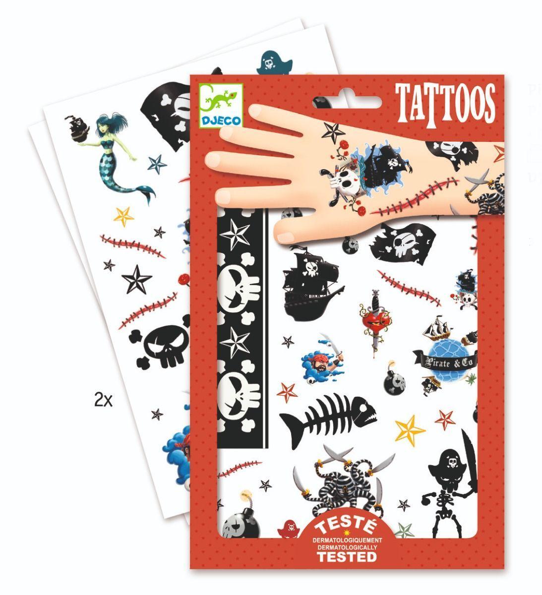 .Privremene tetovaže : PIRATES