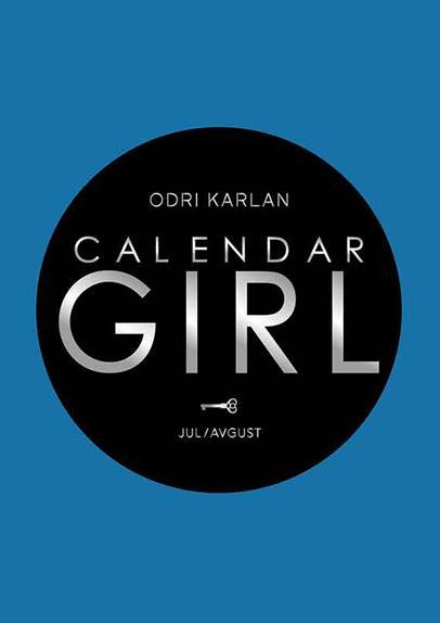 CALENDAR GIRL jul avgust