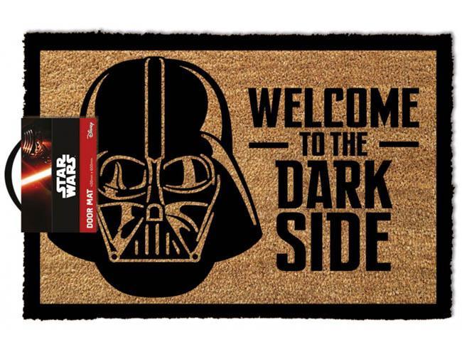 STAR WARS WELCOME TO THE DARKSIDE DOORMAT