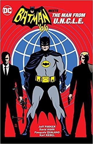 BATMAN 66 MEETS THE MAN FROM