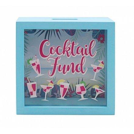 COCKTAIL Kutija za novac