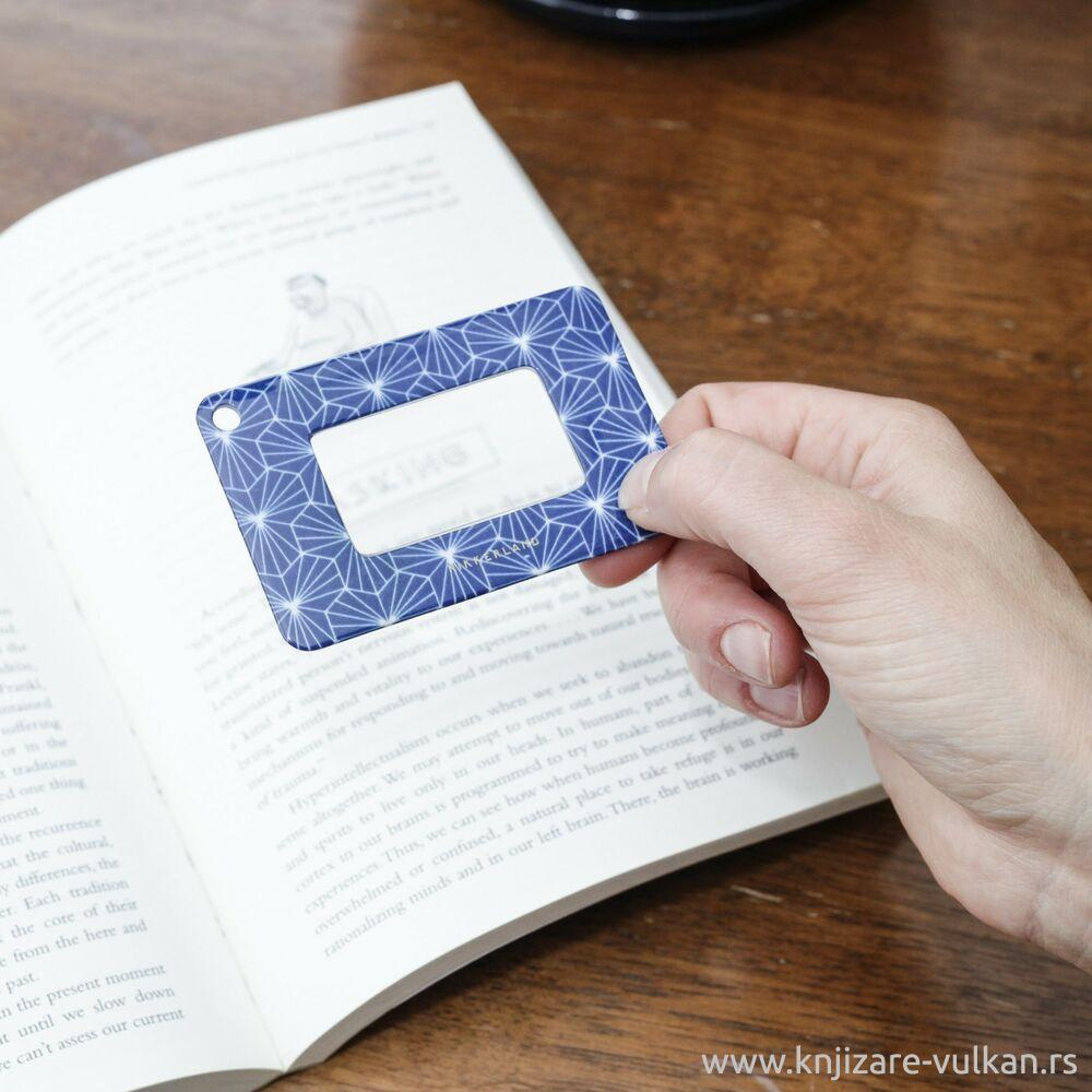 Lupa za čitanje i bookmarker WALLET