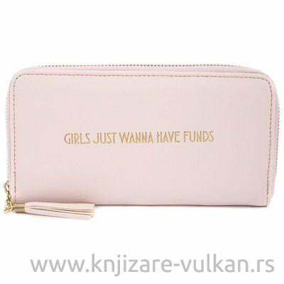 Novčanik SHINE BRIGHT PINK WALLET