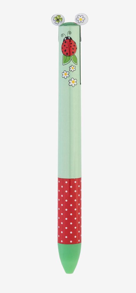 Hemijska olovka CLICK&CLACK plava i crvena