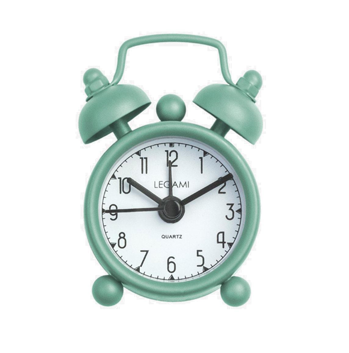 Mini alarm budilnik TICK TOCK Green