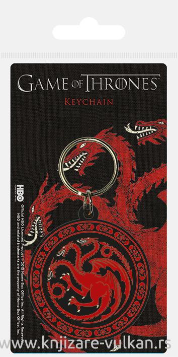 Privezak za ključeve GAME OF THRONES Targaryen