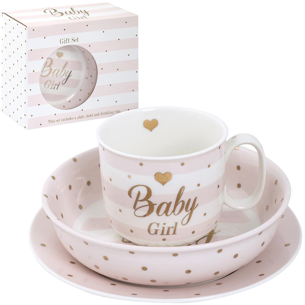 Poklon set BABY GIRL mad dots