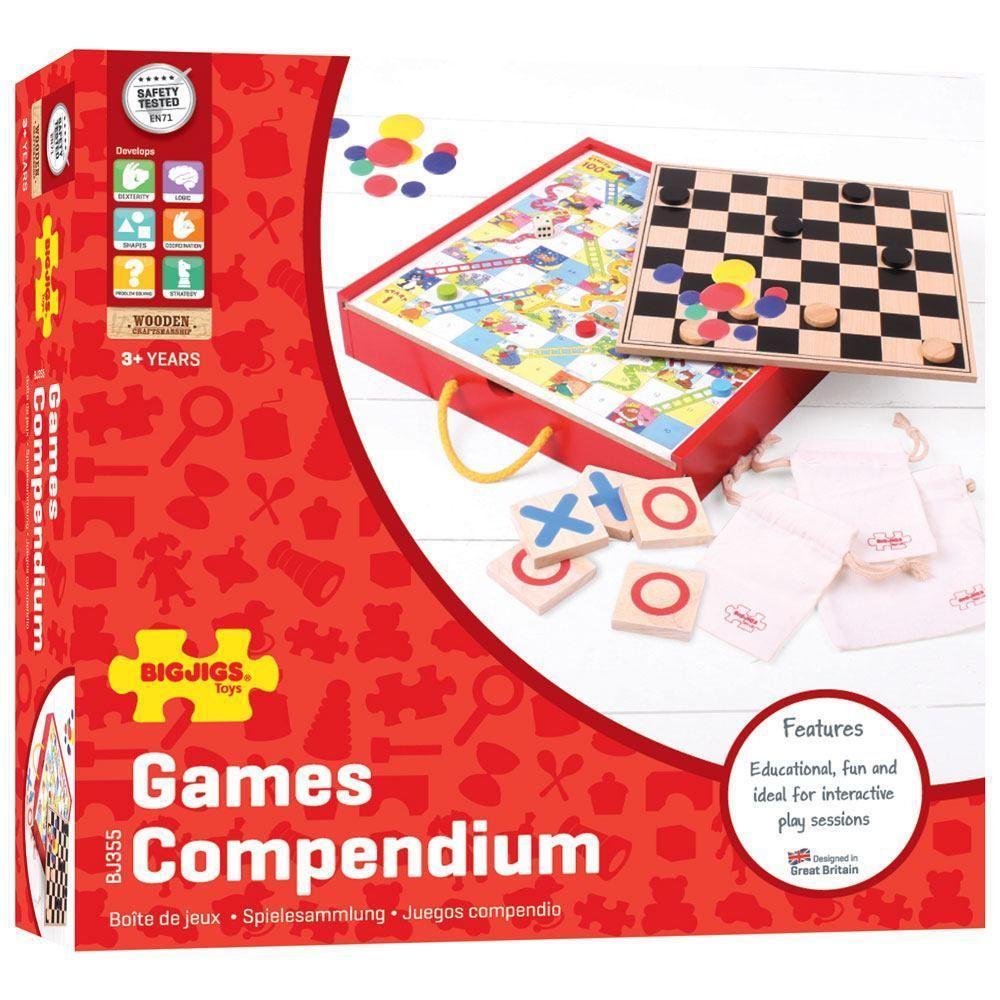 Komplet društvenih igara COMPENDIUM