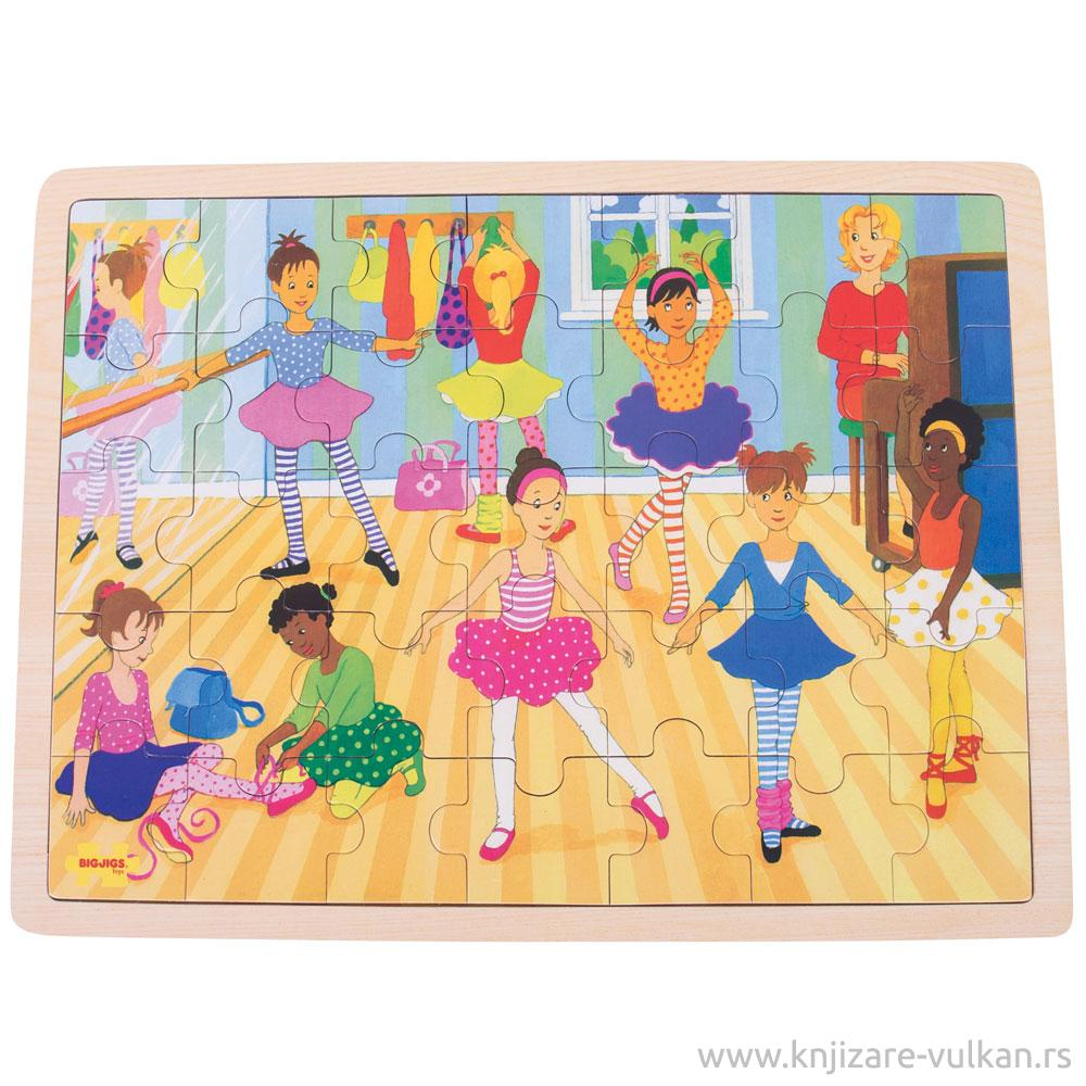 Puzzle BALLET 35 PCE TRAY PUZZLE