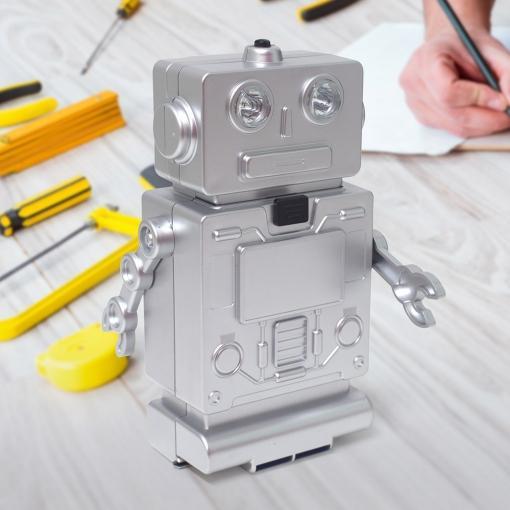Set Alata TOOL SET ROBOT WITH LIGHT SILVER 3XAAA
