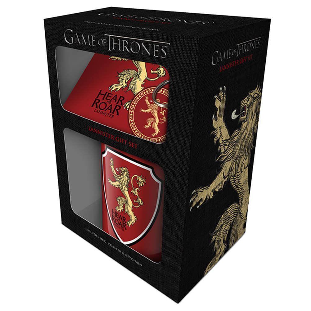 Set (šolja, podmetač i privezak) GAME OF THRONES Lannister