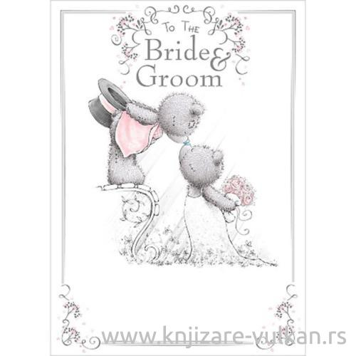 Čestitka za Venčanje BRIDE AND GROOM