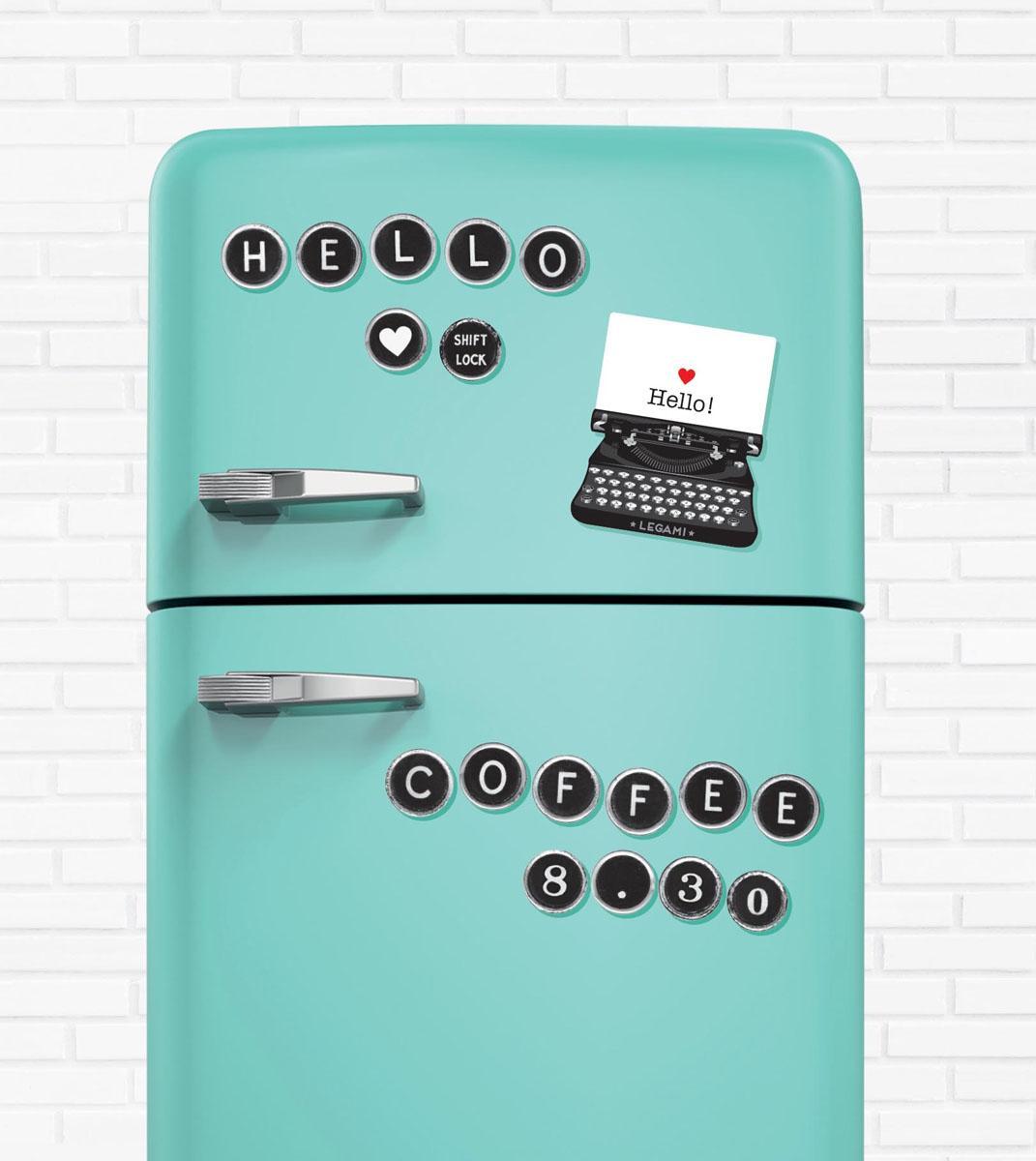 Magneti za frižider TYPEWRITER LETTERS