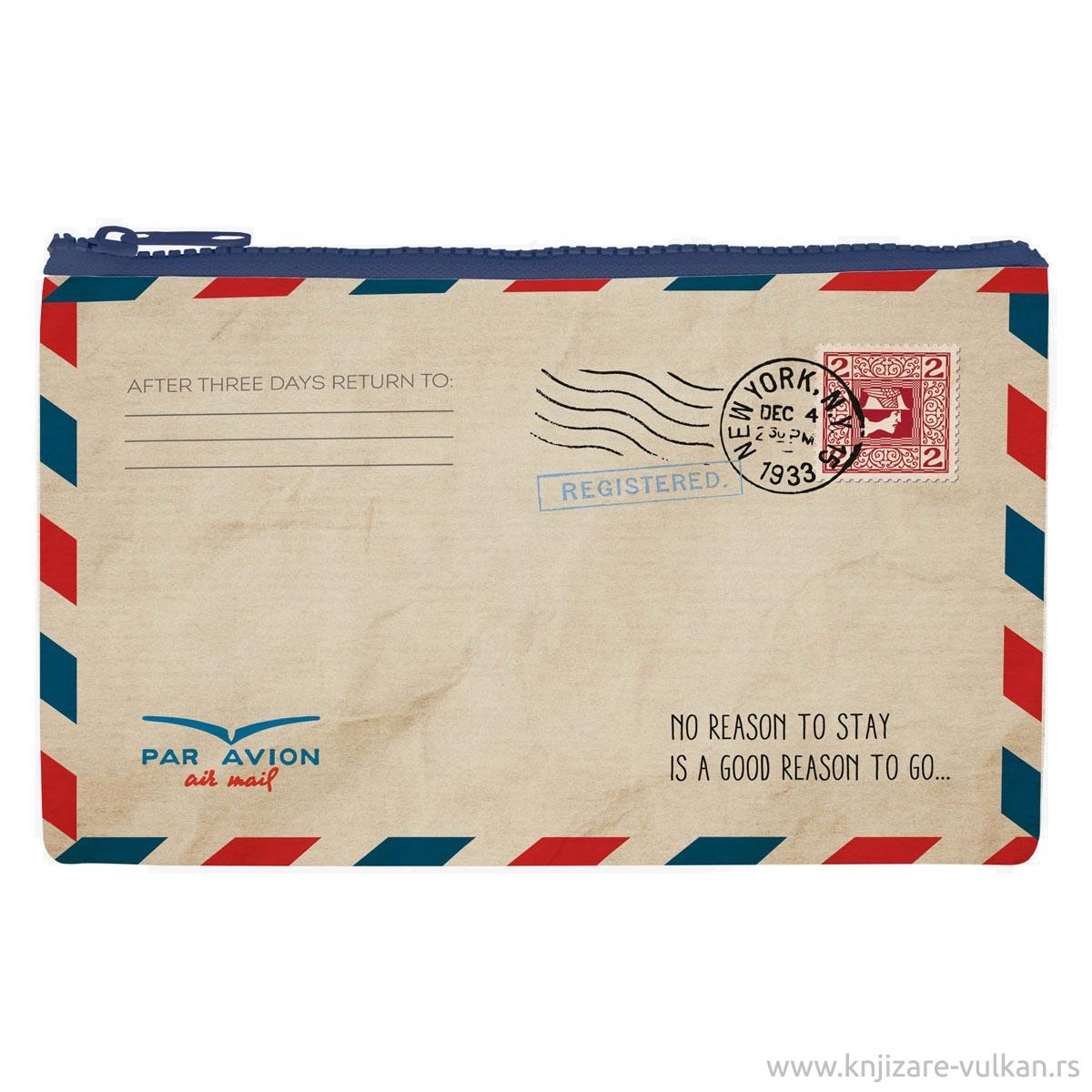 Futrola za olovke FUNKY COLLECTION Air Mail